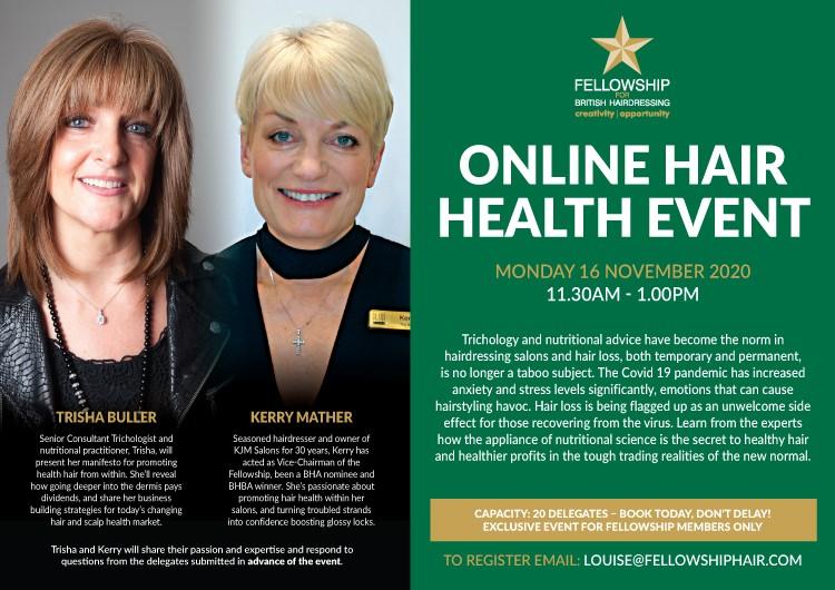 Online Hair Health Event